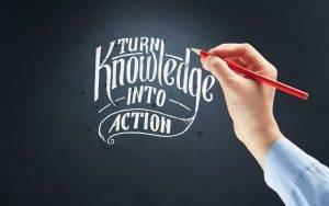 turn knowledge to profit