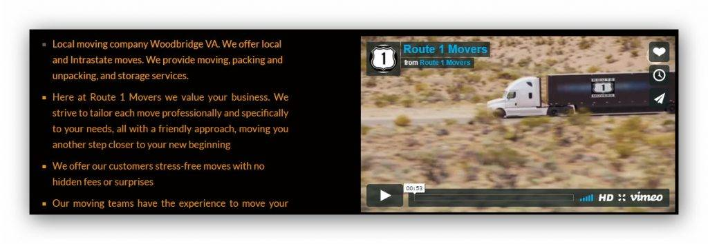 Web design Company For moving