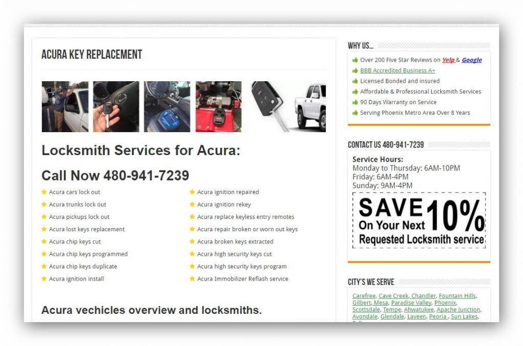 digital marketing for locksmith