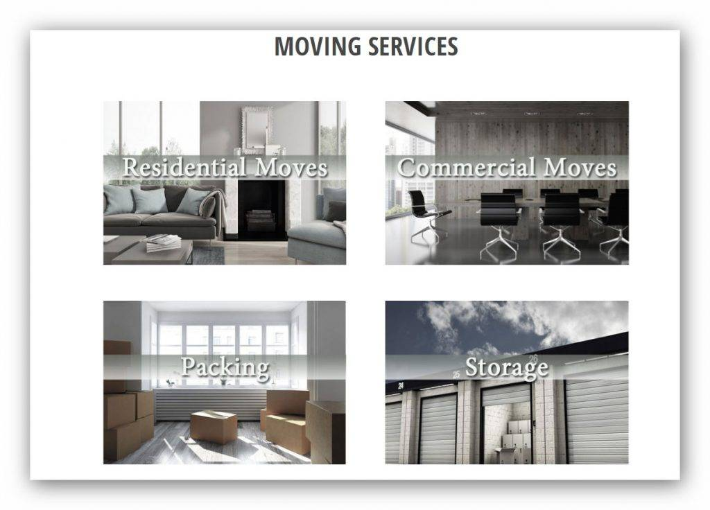 movers web design