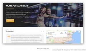 Limousine-Web-Design