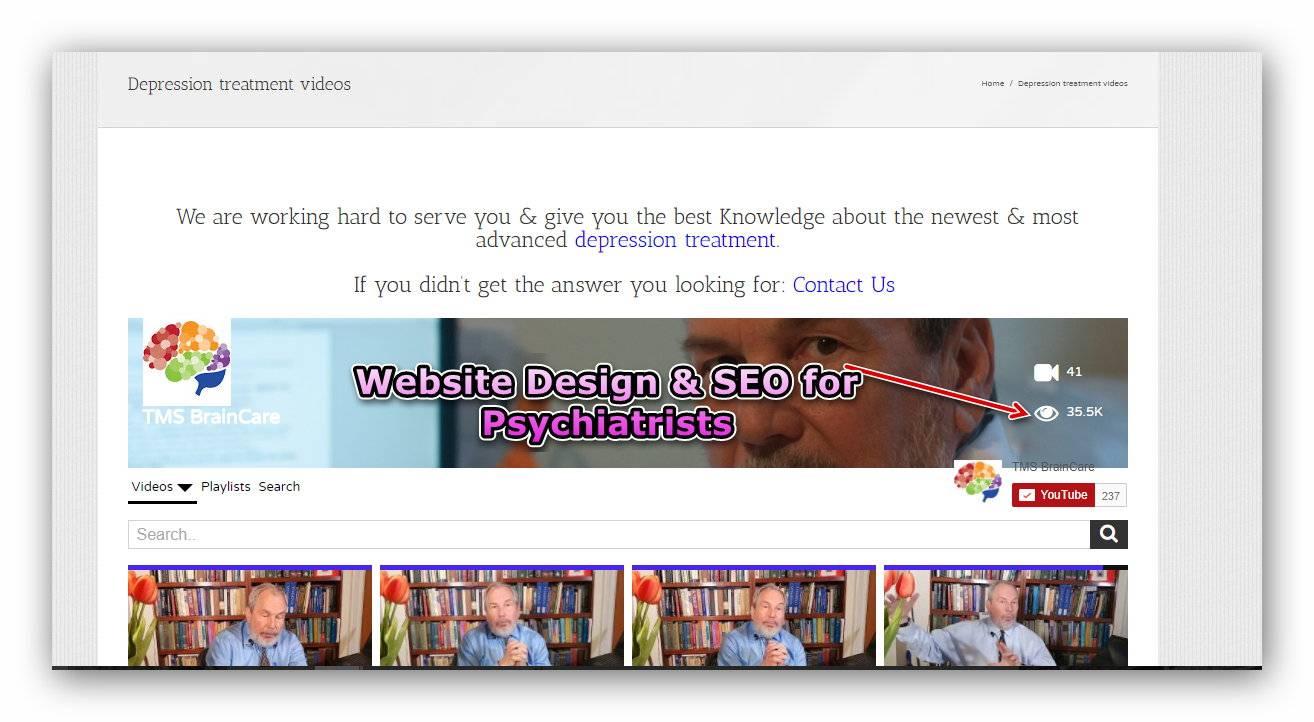 Psychiatrists & Psychiatry Clinics & Clinical Psychologist Web Design,SEO & Online Marketing