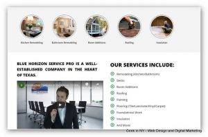 General Contractor Websites Design