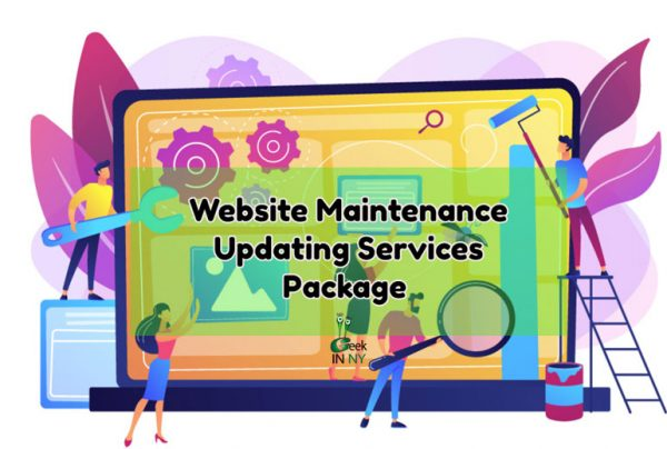 Website Maintenance and Updating Services Package