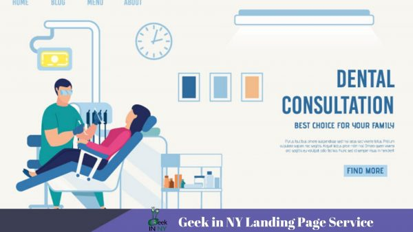 Dentist Landing Page Services