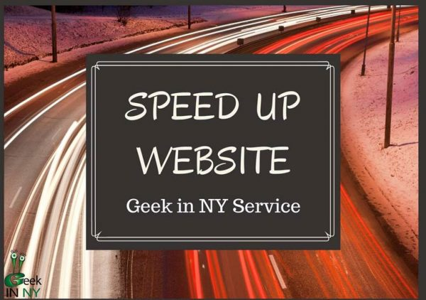 Speed Up Website Load Time Service NYC